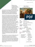 Battle of Plassey - Wikipedia, The Free Encyclopedia