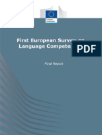 European Comission 2012_first European Survey on Language Competences [Final Report]