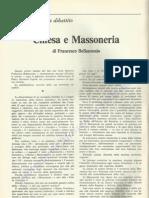 1968 - Francesco Bellantonio - Chiesa e Massoneria
