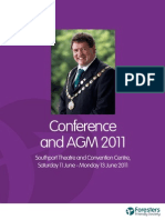 Agm Conference Report 2011