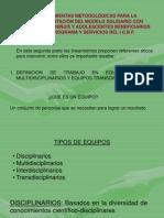 Definicion de Trabajo en Equipo Equipos Multidisciplinarios y Equipos Transdisciplinariosexposicion Lineamientos 1