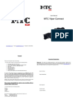 MTC Viper Connect Scope Manual