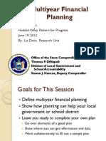 Multiyear Financial Planning_PFP 6-19-12