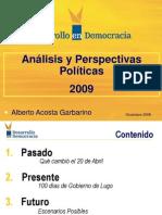 Analisis Politico 2009 Ppt