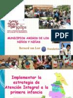 MUNICIPIOS AMIGOS DE LOS NIÑOS KALLPA