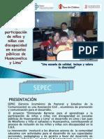 Presentacion de Experiencia Sepec