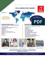 """SUMPLEMENTO EL COMERCIO """"DÍA DE LA MÚSICA"""""""