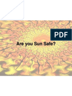 Sun Safety Presentation