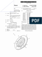 Flexible sink strainer (US patent 8171574)