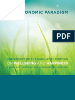 Report of the UN High-Level Meeting on Happiness & Wellbeing
