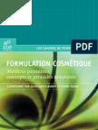 Formulation Cosmetique