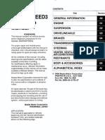 Mazdaspeed3 Factory Manual