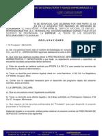 Contrato Consultoria Administrativa