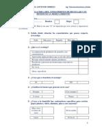 Cuestionario Acerca Del Conocimiento de Reciclaje y Su Beneficio Al Medio Ambiente