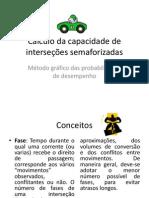 Cálculo da capacidade de interseções semaforizadas
