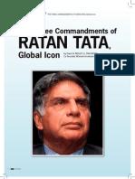 3 Commandments of Ratan Tata