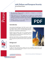 U.S. Missile Defense and European Security