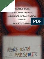 Palestra Tucuman -Comunidad Galilea- Plaza -16!06!12