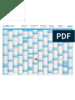 SEAL Calendar 2012