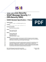 Wss v1.1 Spec Os SOAPMessageSecurity
