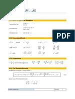 Handy Formulas 1
