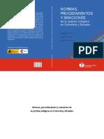 Normas, procedimientos y sanciones de la justicia indígena en Colombia y Ecuador