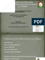 ACTIVIDADES DE ENFRÍA. EN PEDIATRÍA CONS EXT