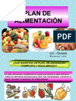 Plan de Alimentacion