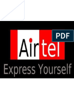 Project on Airtel