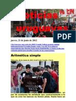 Noticias Uruguayas Jueves 21 Junio Del 2012-2