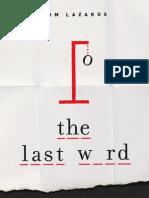 The Last Word Sample PDF