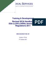 DWP~Medical Services Handbook
