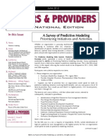 Payers & Providers National Edition – Issue of June 2012