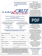 Cruz in Rockwall June 26 2012