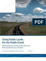 Using Public Lands for the Public Good