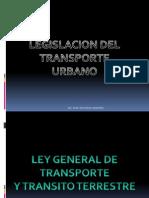Legislacion Del Transporte Urbano