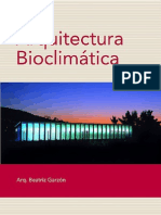Arquitectura bioclimática Escrito por Beatriz Garzón
