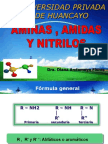 Amidas Aminas y Nitrilos