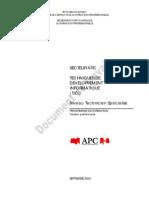 TSDI - Programme de Formation _03-2006