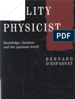Reality and the Physicist Knowledge Duration and the Quantum World