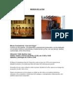 Museos de La Paz