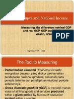 2. National Output and National Income