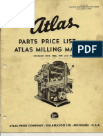 Atlas Milling Machine