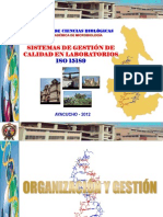 (3) ISO 15189 DIRESA ORGANIZACIÓN Y GESTIÓN