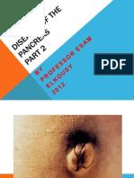 Diseases of the Pancreas