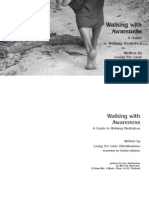 Walking With Awareness-A guide to walking meditation