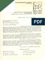1980 - Asamblea Permanente DDHH. Documentos Varios