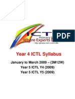 ICTL Y4 Syllabus