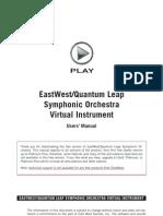 EWQL Orchestra Free Manual
