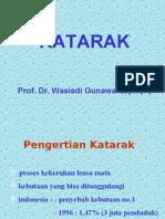 Prof. Wasisdi Katarak